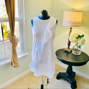 Spense Cotton Ruffle Dress NWT Size 14